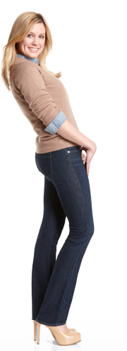 The Real Deal: Body Types – Designer Denim Seeker for Real Women: Your Fit Guide - Fashion Index | Bloomingdale's