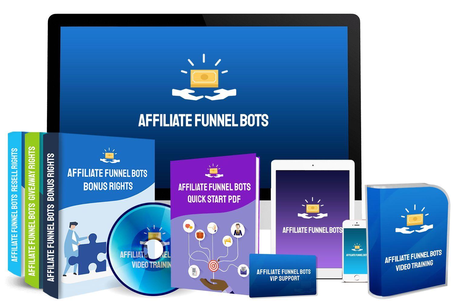 Affiliate Funnel Bots Software apps, Marketing software
