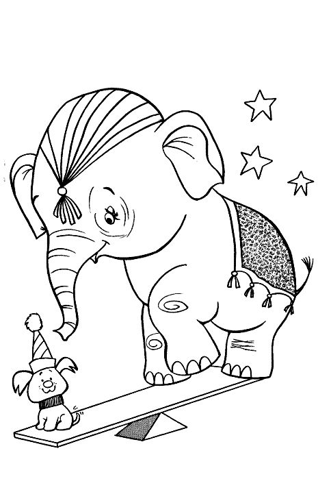 Dieren Kleurplaten voor kinderen. Kleurplaat en afdrukken tekenen nº 224