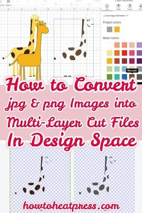 Convert JPG & PNG Images To Multi-Layered Cut Files In Cricut Design Space