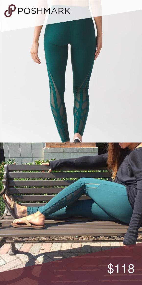 20d69db5a Lulu Essential Rhythm Pant Deep Green 🍋Like🆕Lululemon Special Edition  Essential Rhytm leggings!