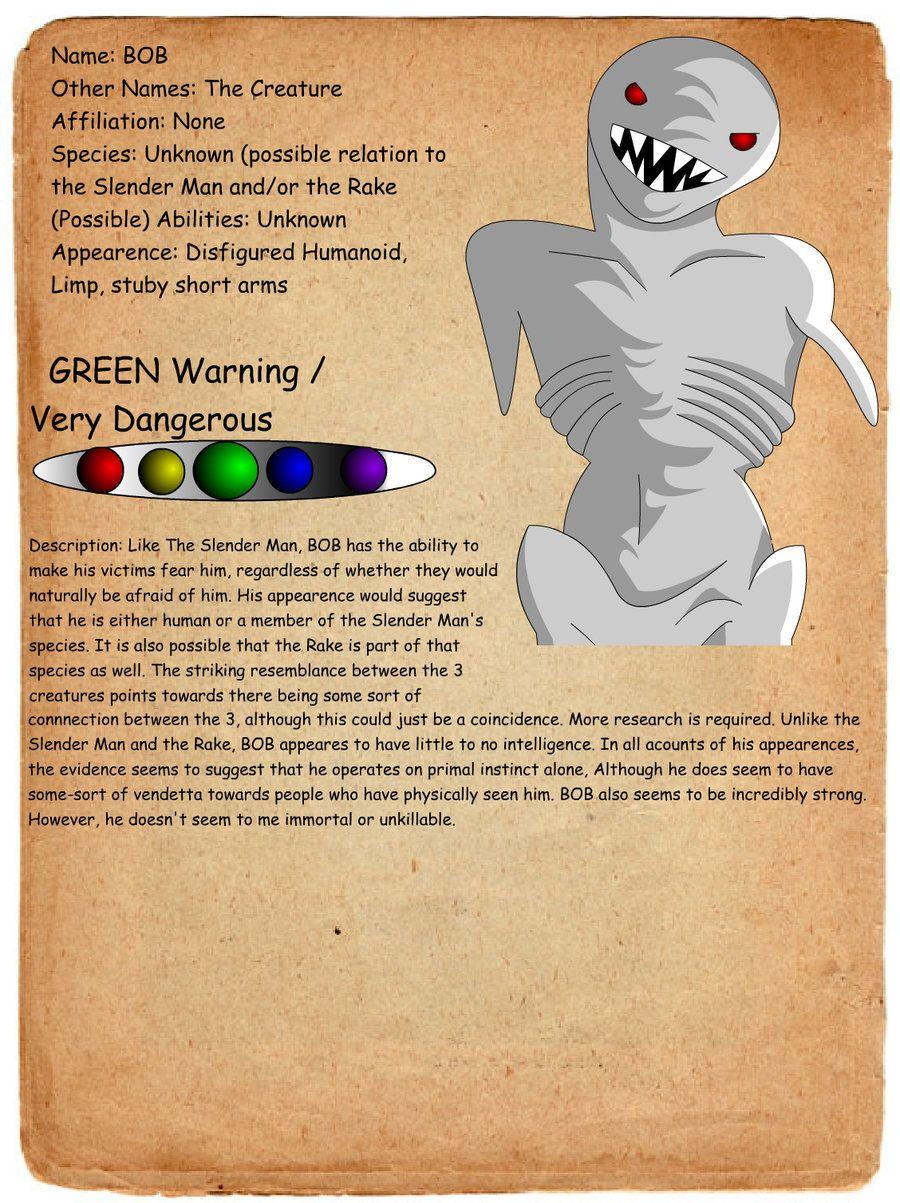 creepypasta profiles   ... - Journal entry bob by shadowgerbil-d4gvkpn.jpg – Creepypasta Wiki