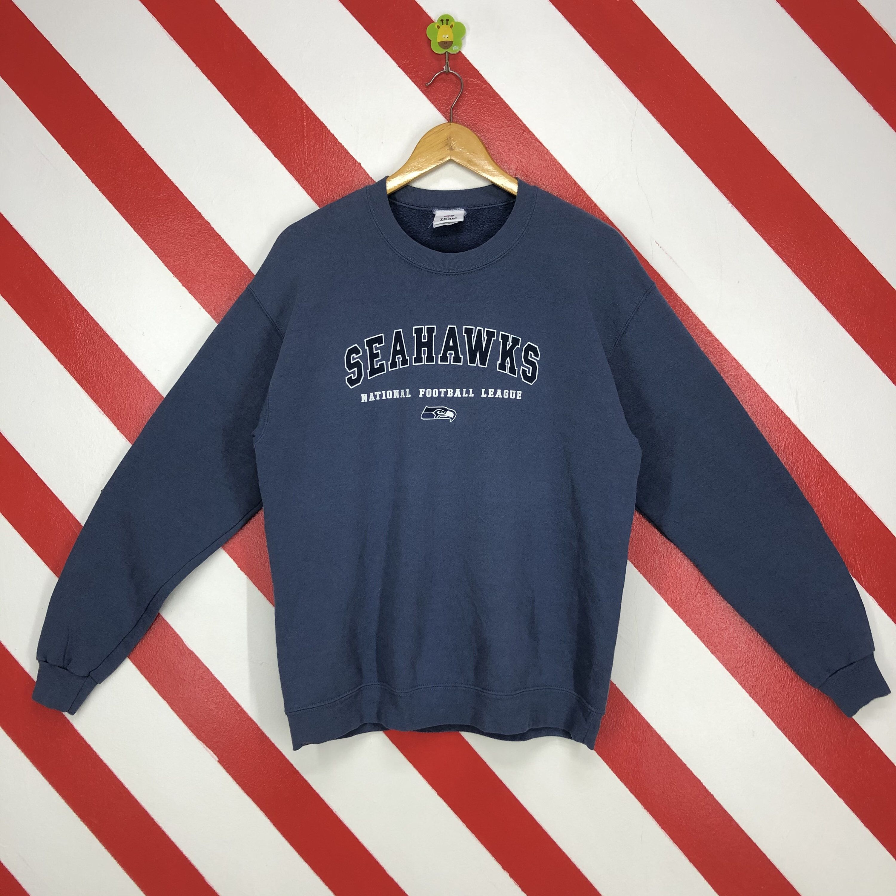 Excited To Share This Item From My Etsy Shop Vintage Seattle Seahawks Sweatshirt Crewn Seattle Seahawks Sweatshirt Seahawks Sweatshirt Long Sleeve Tshirt Men [ 3000 x 3000 Pixel ]