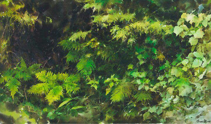 Painting by Xie Mming Chang Tsay.