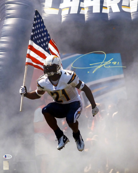 Ladainian Tomlinson Autographed 16x20 Photo San Diego Chargers In Yellow Beckett Bas San Diego Chargers Chargers Football San Diego Chargers Football