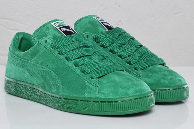 Puma roll up their sleeves and go green with their new Suede
