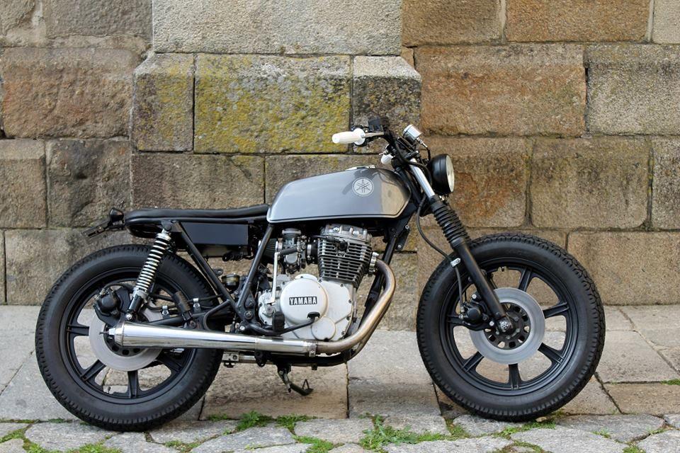 Yamaha XS360 1977 Brat Style By Bullit Garage Motorcycles Bratstyle Motos