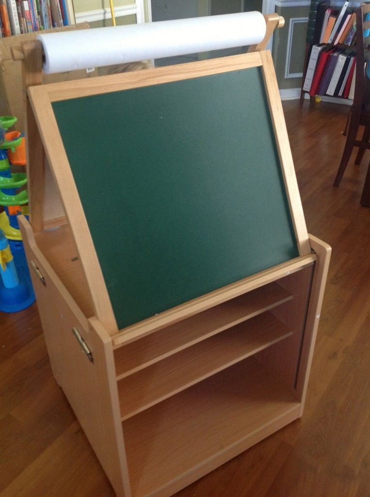 Guidecraft Toys Desk To Easel Art Cart Review Link To