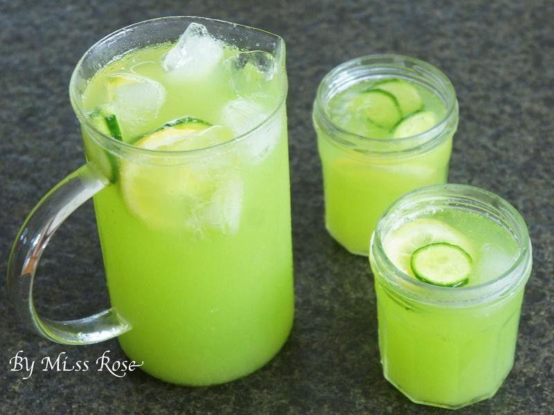 Spa小黃瓜檸檬水