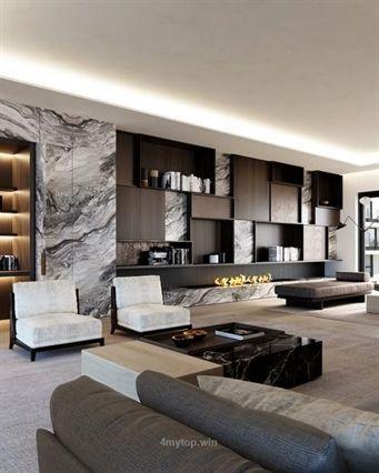 Coolest Mid Century Lighting Designs For Uk Www Delightfull Eu Visit Us For Inte Living Room Design Modern Modern Houses Interior Modern Mansion Interior