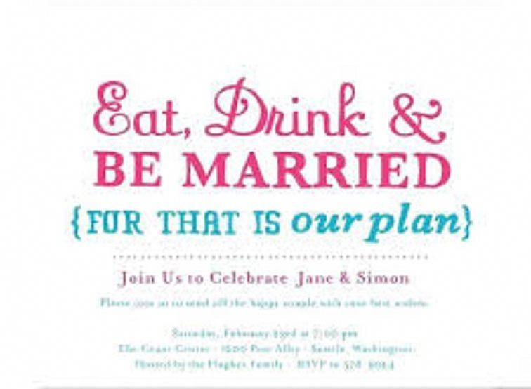 Informal Post Wedding Reception Invitation Wording Funny Engagement Party Invitations Wedding Celebration Invitation Wedding Party Invites