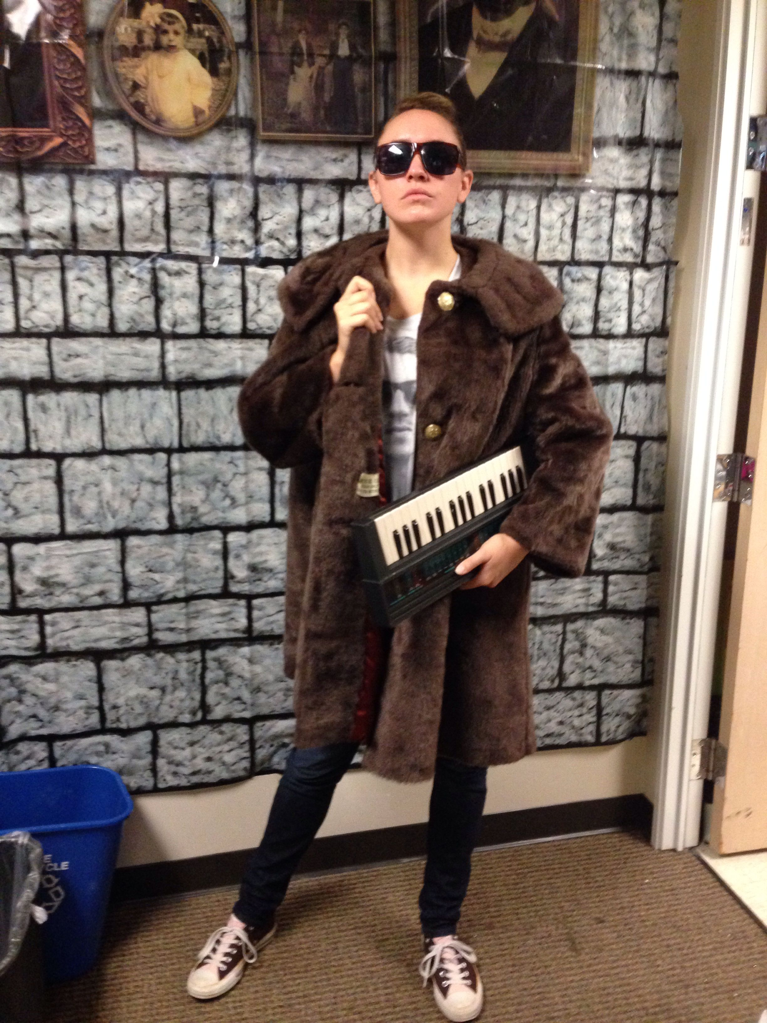 easy macklemore costume im gonna pop some tags
