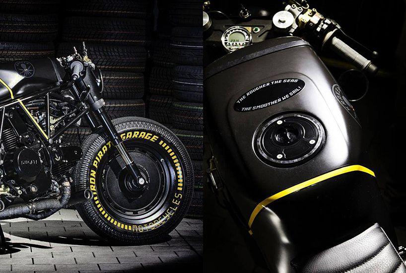 Ducati 750ss Kraken Custom Motorcycle By Iron Pirate Garage