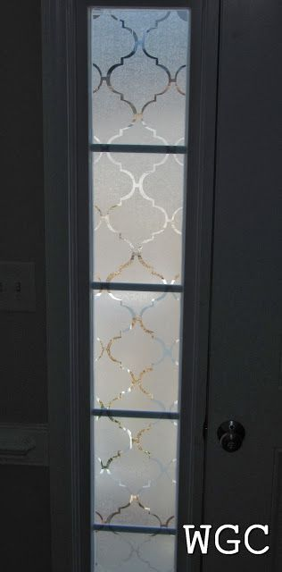 Awesome Wayward Girlsu0027 Crafts: Adding Privacy To Front Door Sidelights