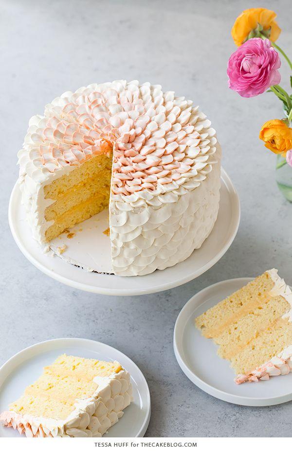 Orange Salted Honey Cake