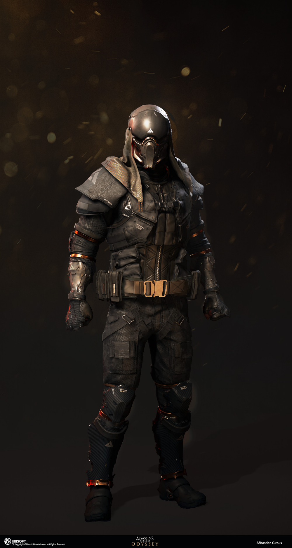 Artstation Assassin Creed Odyssey Abstergo Outfit Sebastien