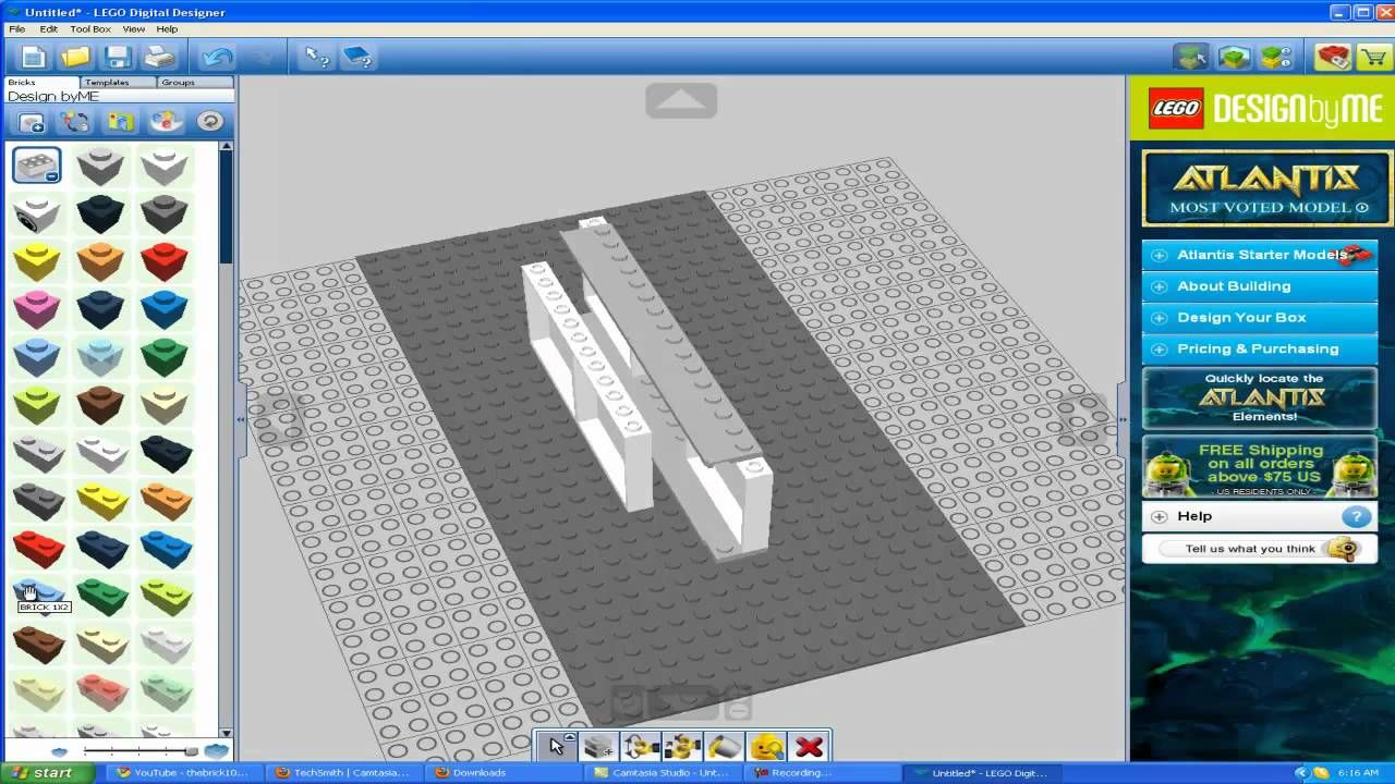 How to make a sliding door in LDD ( LEGO ) 78843656 How To