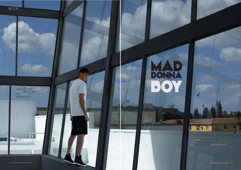 mad donna boy (Men Moments Magazine)