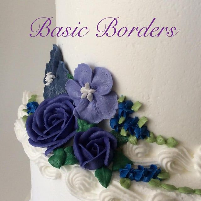 Borders add the perfect finishing touch to your cake!  From simple shells, to elaborate overpiping, borders can take your cake to the next level.  Watch our video for a demonstration of a few border techniques, using only a number 18 Star Tip.