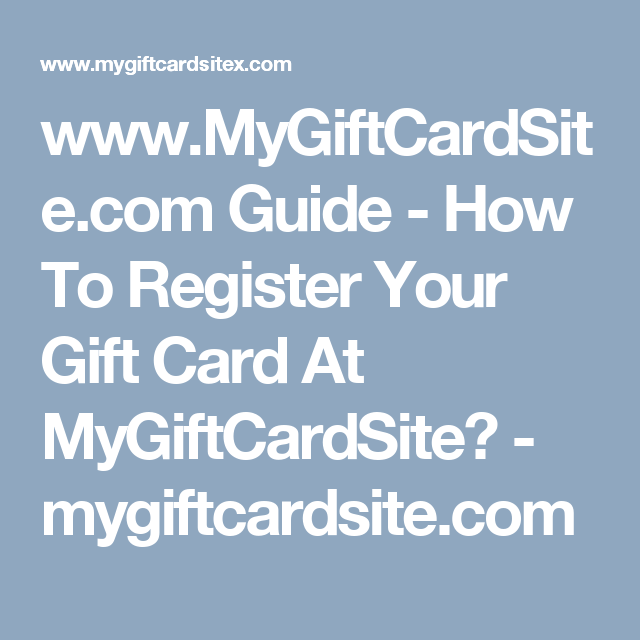 www mygiftcardsite com guide