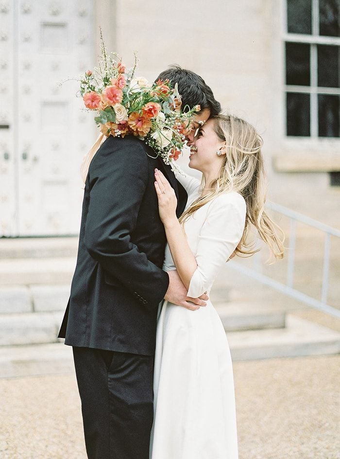 Simple Courthouse Elopement - Once Wed