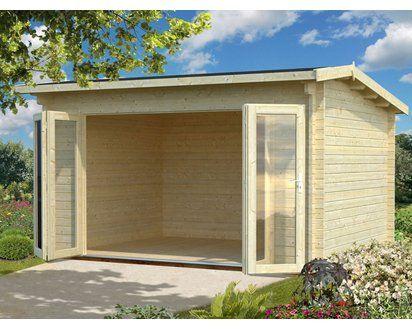 Palmako HolzGartenhaus Ines B xT 390 cm x 300 cm Haus