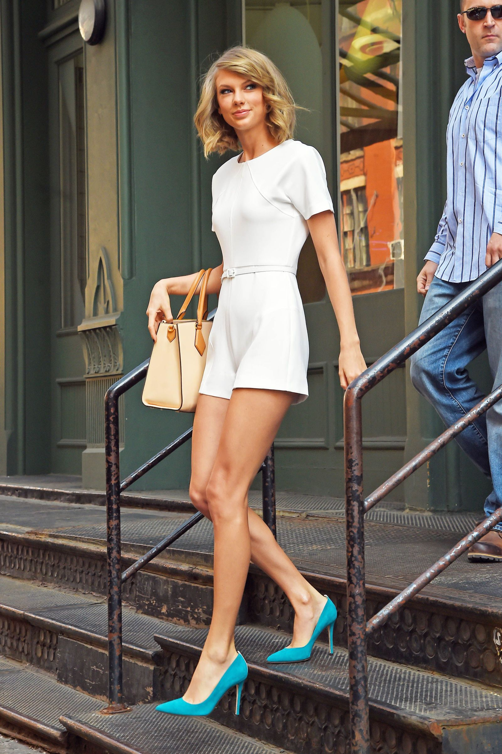 Taylor Swift Just Wore the Most Un-Taylor Swift Outfit Ever and I m ... a2750add99a33