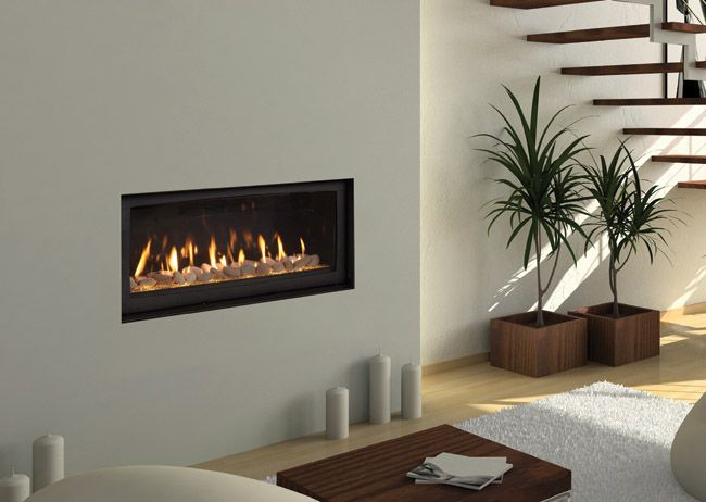 Monessen Serenade direct vent linear gas fireplace. - Monessen Serenade Direct Vent Linear Gas Fireplace. Fireplaces
