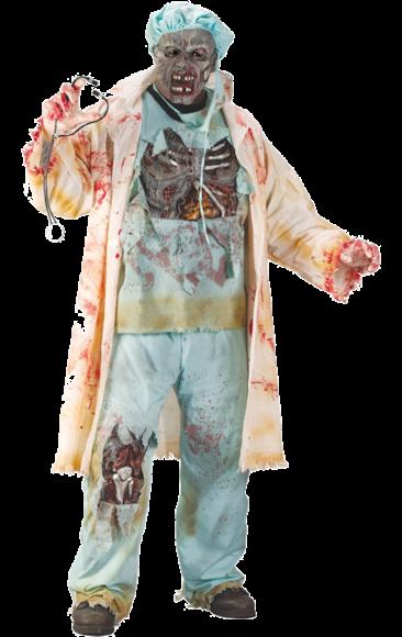 f0bb699f8cd80 Zombie (Plus Size) Halloween Costume | Halloween | Doctor costume ...
