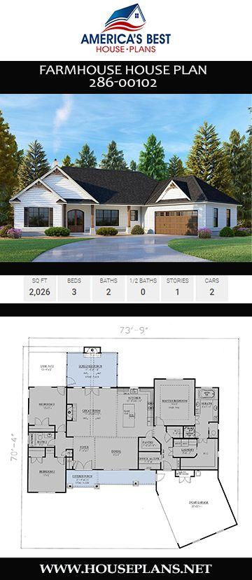 Farmhouse Plan 286