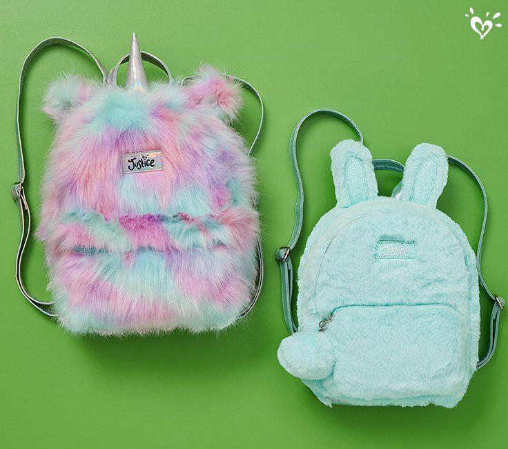 Unicorn Plush Backpack Animal Rainbow Bag Stuffed Animal Doll Toddler Cute Mochila Unicornio