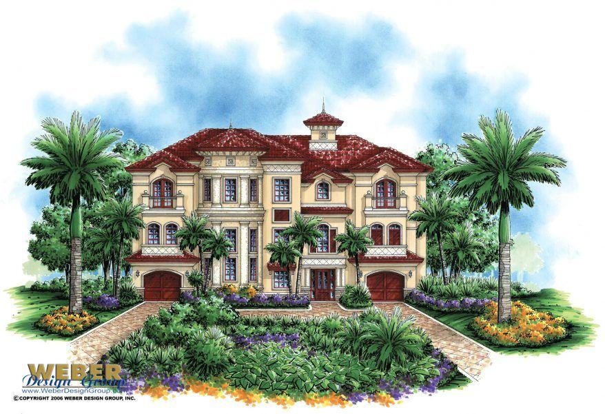 Mediterranean House Plan Mediterranean Style Tuscan Beach Home Plan Mediterranean Style House Plans Beach House Plans Mediterranean House Plans