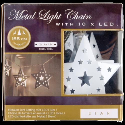 guirlande lumineuse LED coeur étoile blc Magasins