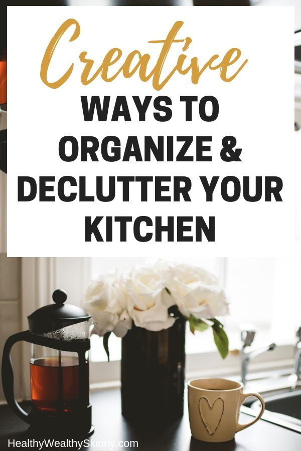 Kitchen Organization Ideas  Declutter Organize Enjoy is part of Cabinet Organization Declutter - The kitchen should be a relaxing haven, but it's easy to let clutter build up  Discover some kitchen organization ideas to help you declutter and organize