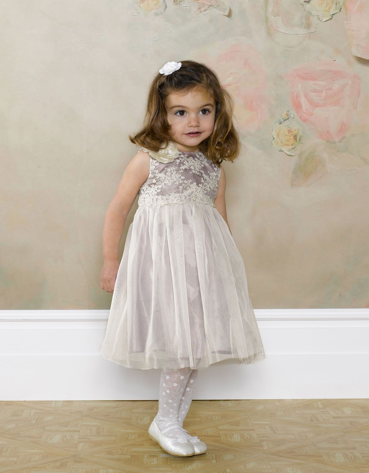 Baby christabel lace dress white monsoon lace white