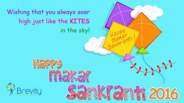 Wishing that you always soar high just like the Kites in the sky! #Happy_Makar_Sankranti  - Brevity Software Solutions Pvt Ltd