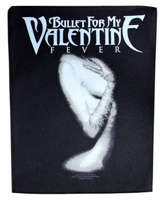 Bullet For My Valentine Fever Backpatch Bullet For My Valentine