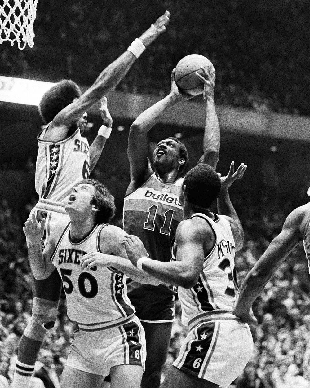 Elvin Hayes — 13 296 Top 10 NBA players in missed shots