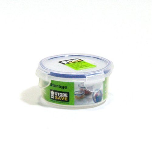 Lock 10 Fluid Ounce Round Food Container 1 1 4 Cup By Lock 6 53 Made From Bpa Free Material 10 Fluid Food Containers Polypropylene Plastic Dishwasher Safe