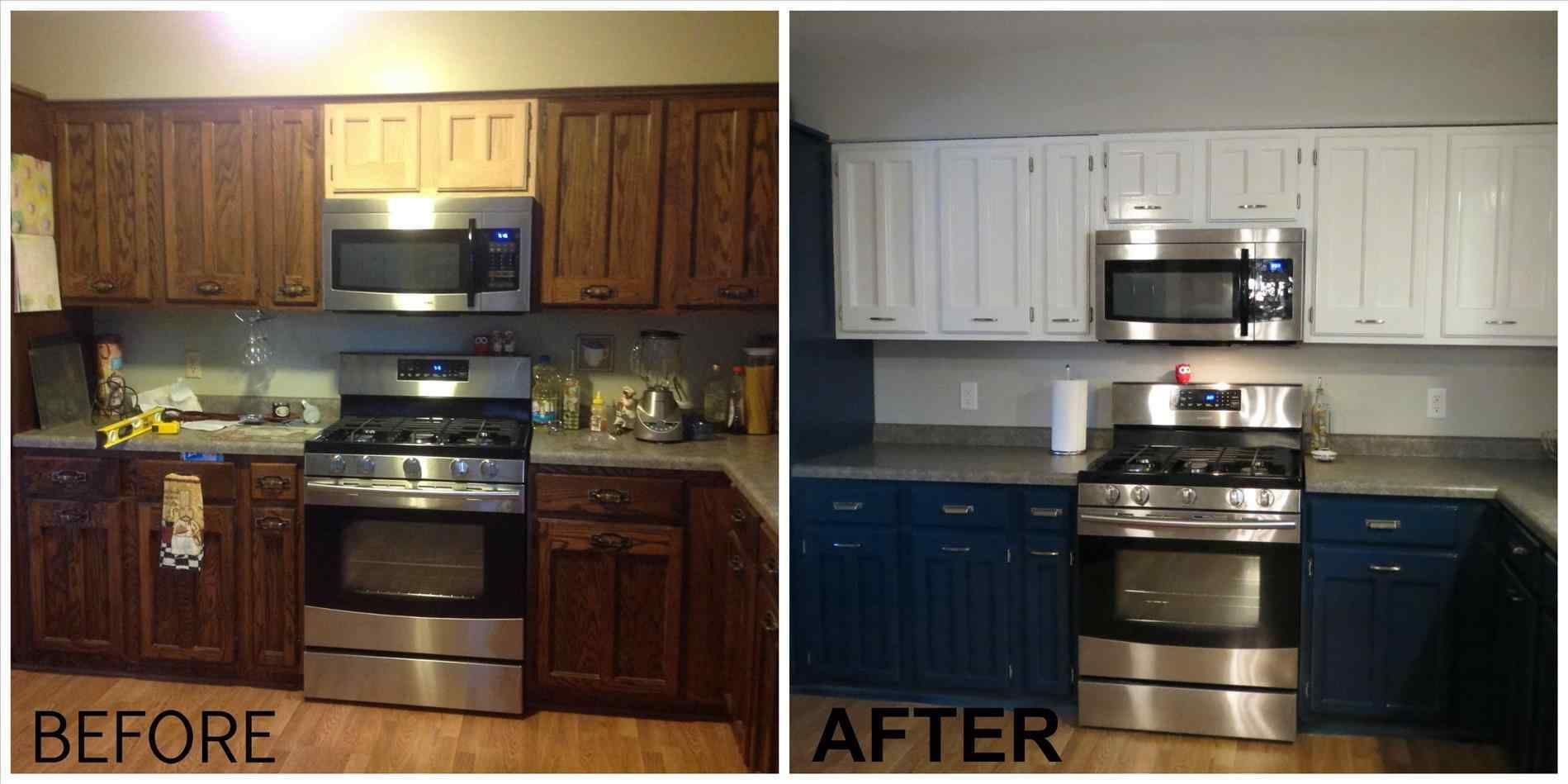 image result for before and after pics of painted kitchen cabinets cheap kitchen remodel on kitchen cabinets painted before and after id=79291