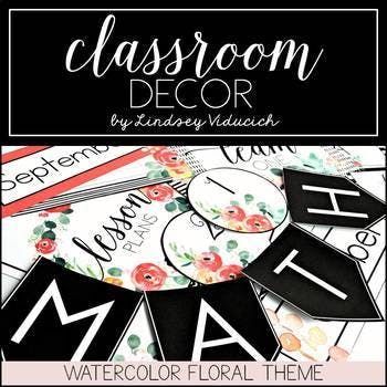 English Class Room Decoration