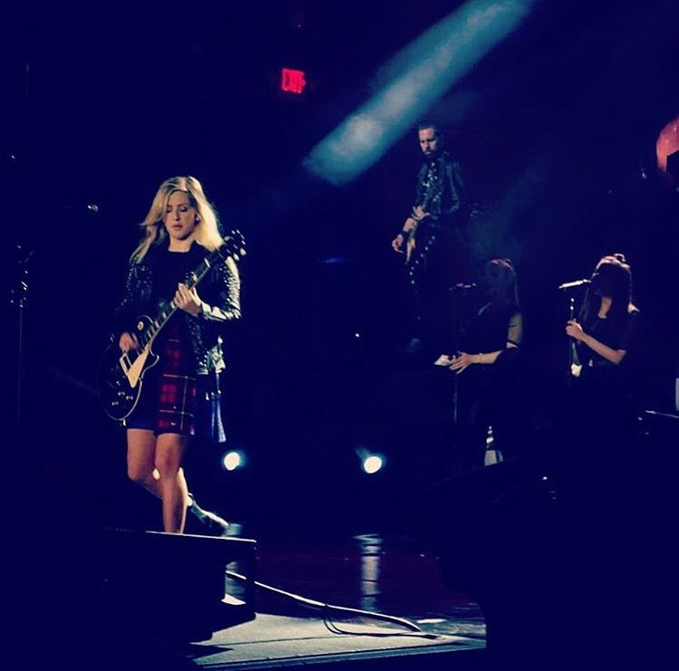 Ellie Goulding performance in Columbus Ohio