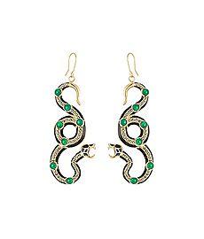 Embellished Earrings from ALBERTA FERRETTI
