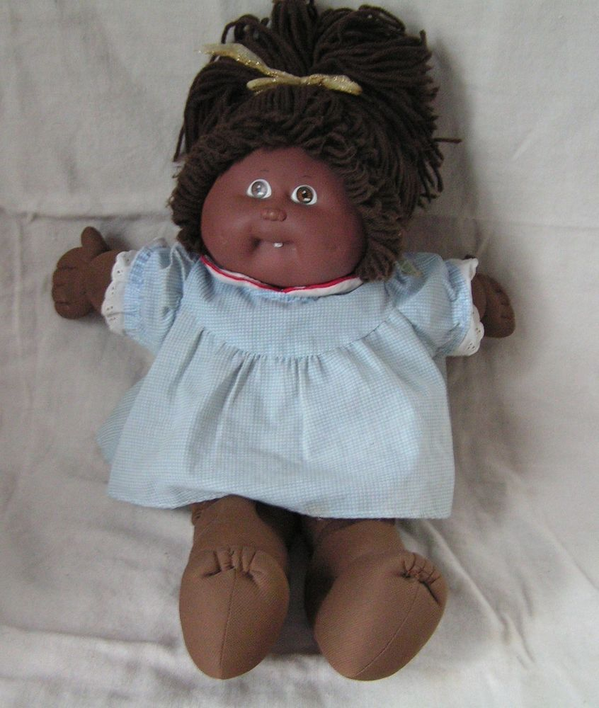 Vintage Cabbage Patch Doll African American Girl 1978 1982 Xavier Roberts Cabbage Patch Dolls Vintage Cabbage Patch Dolls Cabbage Patch