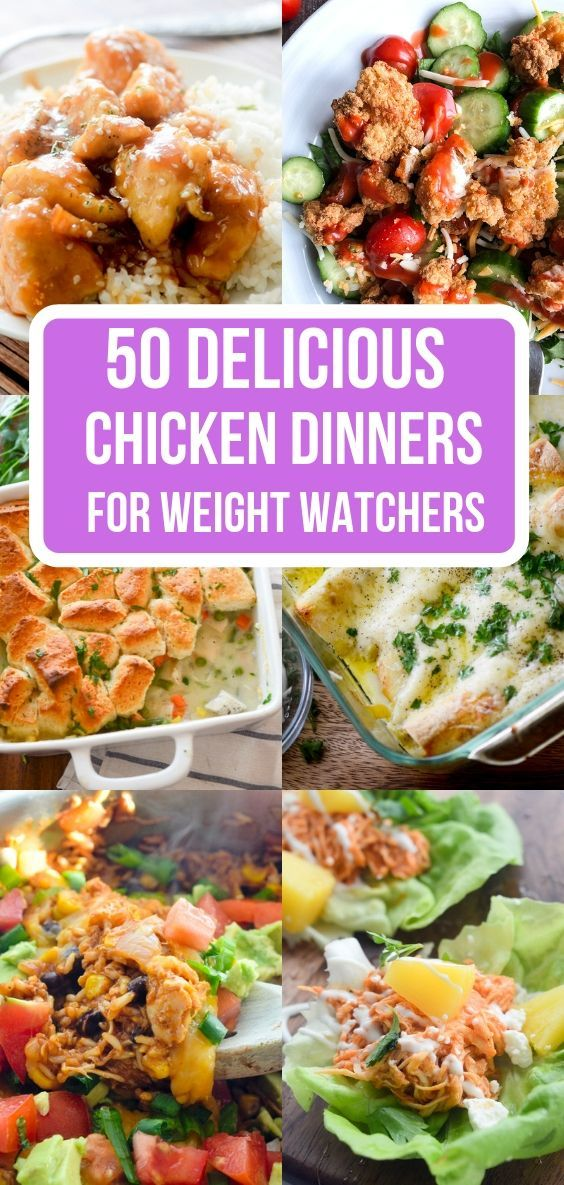 50 Delicious Chicken Dinners for Weight Watchers images