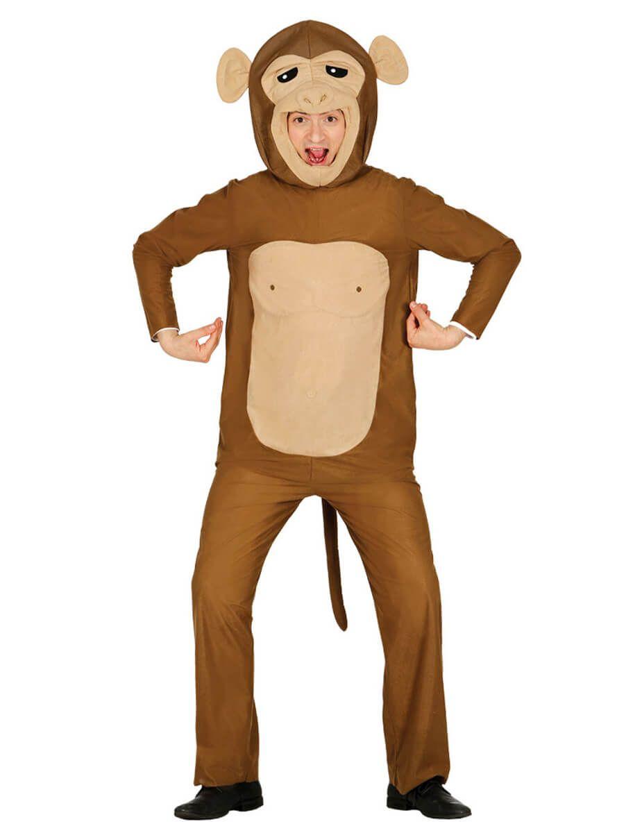 426df64a4d85 Disfraz de mono saltarín unisex en 2019   Disfraces de animales para ...