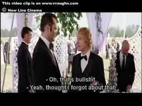 Vince Vaughn Wedding >> Vince Vaughn Wedding Crashers Favorite Movie Scenes