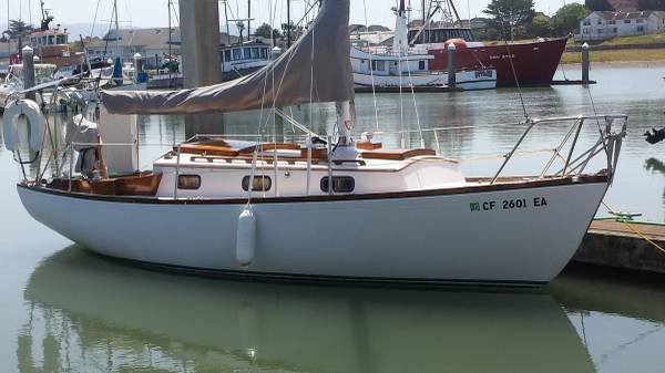 A classic Sparkman/Stephens 1967 modified full keel with