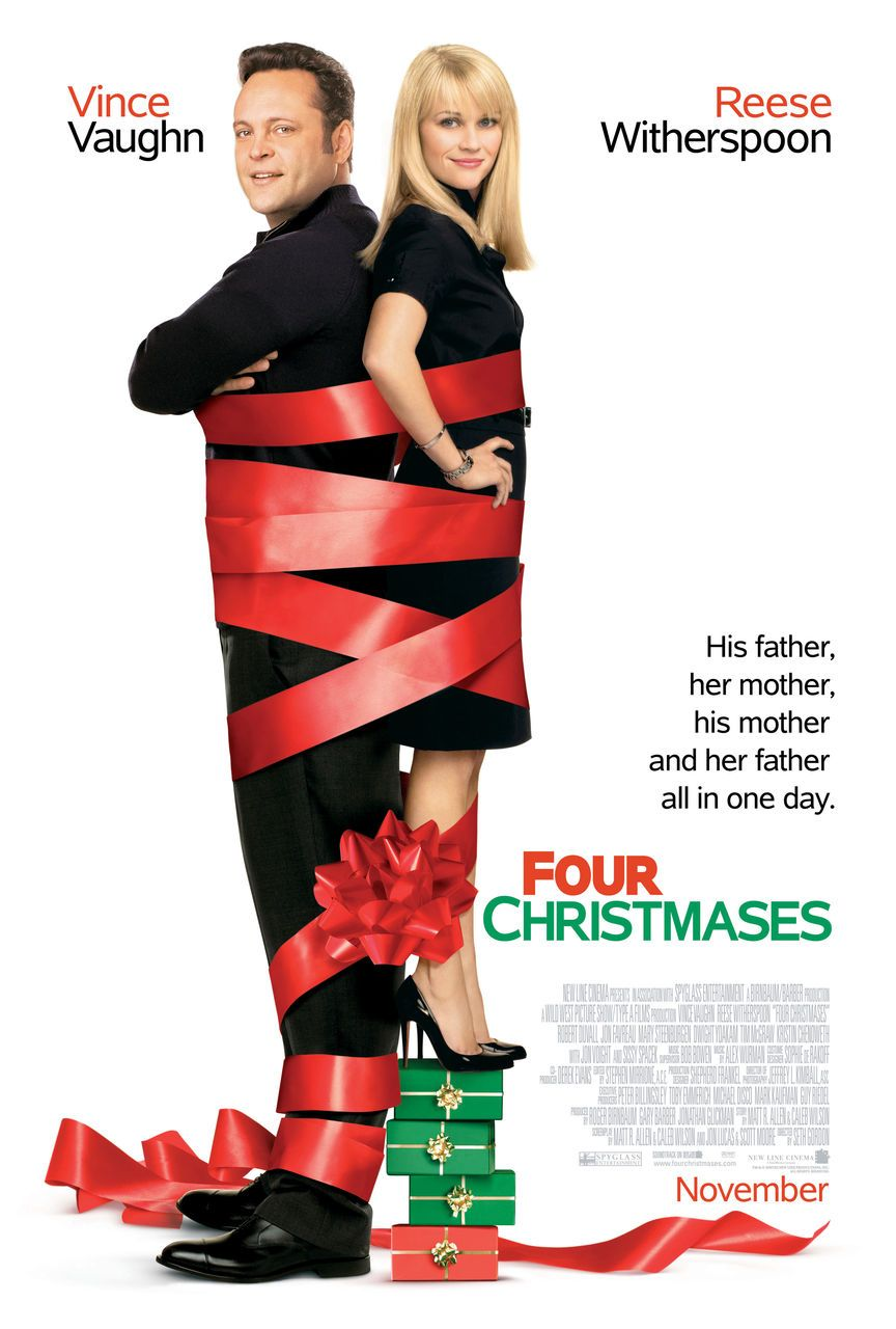 Four Christmases (2008) by Seth Gordon Comedy movies