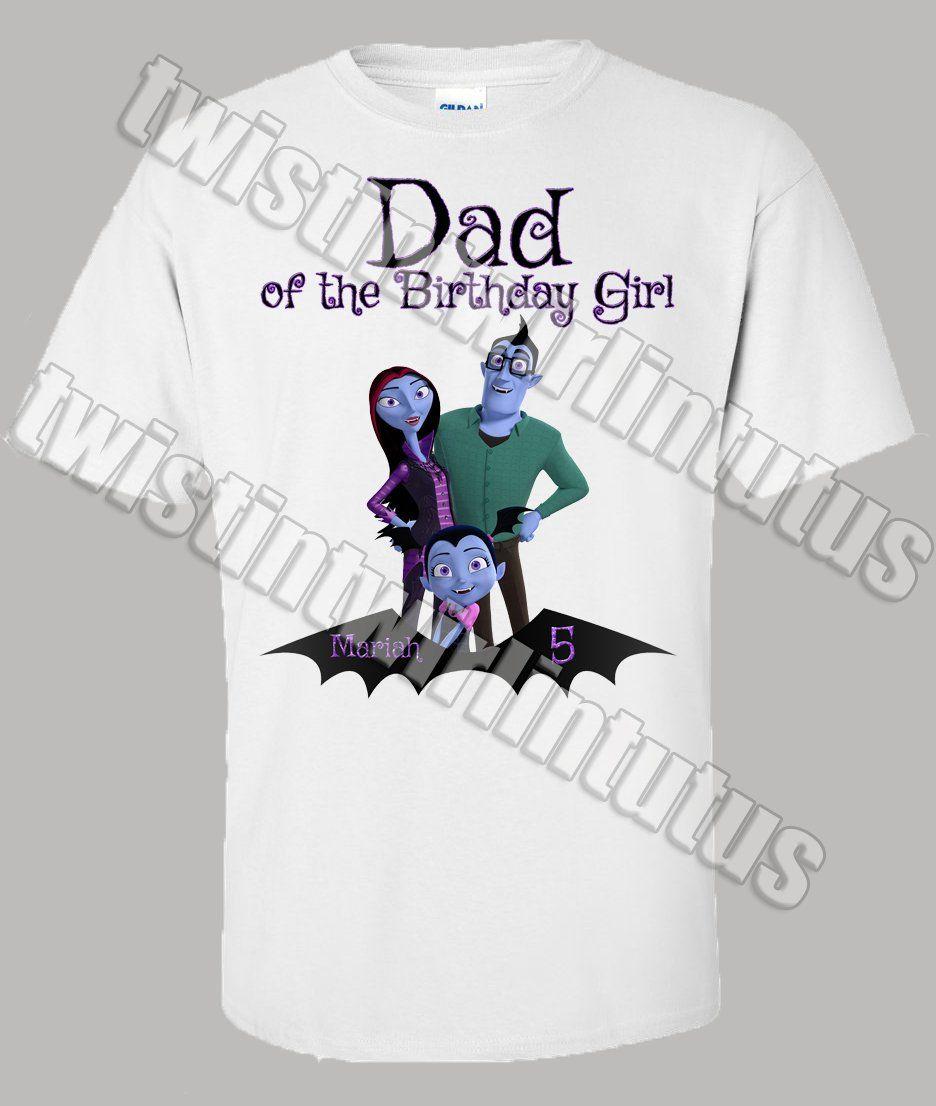 724c994cd Vampirina Dad Shirt | Vampirina Birthday Shirt | Vampirina Birthday Party  Ideas | Twistin Twirlin Tutus